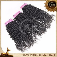 grade 6A Virgin Hair and Hair Extension Type peruvian hair jerry curl weave 3pcs 18 inch