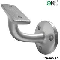 Stainless steel square tube joint glass railing post handrail bracket