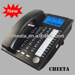 Hotel telephone faceplate analog conference phone WITH DISPLAY