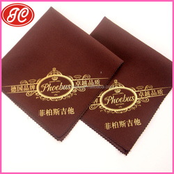 Woodwinds music instruments cleaning cloth lasting wholesales cloth in china