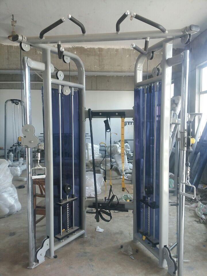 Hd cabo Elite treinamento estação dupla polia ajustável ...
