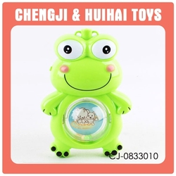 New version baby singing small toy plastic frogs
