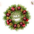 Atacado decorações de natal acessórios da árvore de natal guirlandas pine cones natal grinalda