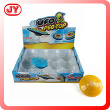 2015 promotional gift light up spinning top for kids
