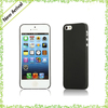 For iPhone 5S Hard Case! ROCK Ultra Thin Series 0.3mm Plastic Hard Case for iPhone 5s/5 - Transparent Black