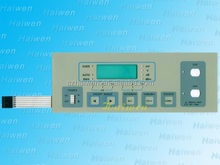 power control module membrane switch with embeded waterproof rings