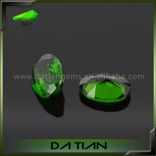 Wholesale pendant of oval green natural russia loose gems diopside