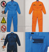 Anti static Fire Retardant 100% Cotton Coverall