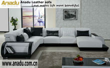 wood furniture leather sofa europe style antique furniture