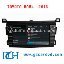 4.0 android car dvd player with 3G WiFi Dongle for TOYOTA RAV4 2013 WS-9434