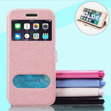 Leather flip case for iPhone 6 leather phone cover for iPhone 6 leather phone cases