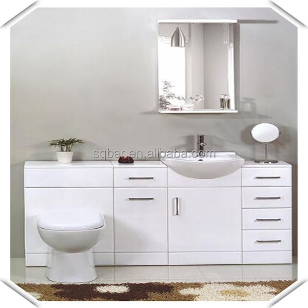Sqbar Four Main Cabinet White Lacquer Mdf Bathroom Vanity Buy Bathroom Va