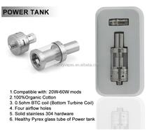 cheap price & high quality kamry power tank 0.5Ohm ni 200 bottom coils Pyrex Tank mini vaporizer wholesale electronic cigarette