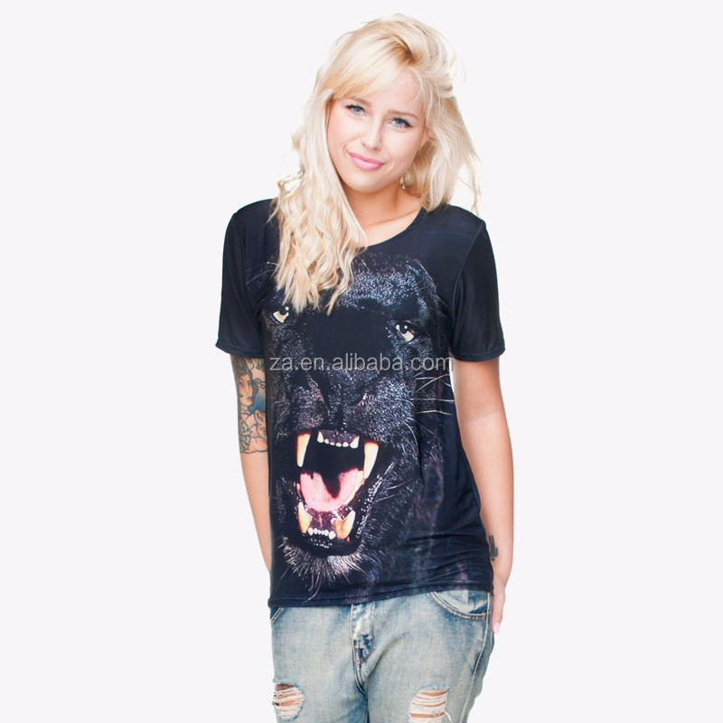 Animals Printed 3d T Shirt Manufacturers In Usa Buy T