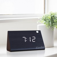 Elegant creative triangle table clock modern kitchen and home decoration items