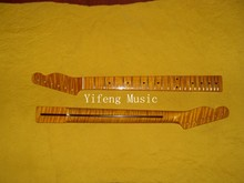 First A flamed maple Vintage Tint Finished Guitar Neck for Sale