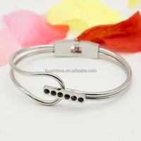 2015 hot sale New design steel upper arm bracelet