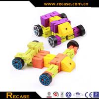 3D wooden puzzle robot, robot toys for kids, trans car robot puzzle