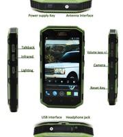 IP67 Rugged Waterproof Mobile Phone for worker miner engineer sailor