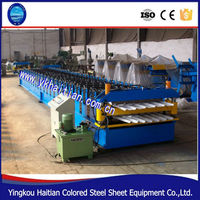 Metal Sheet Double Layer Ibr Steel Roof Forming Machine