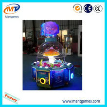 Popular Rainbow water ball/discount kids game ticket machine