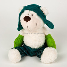 Hot sale OEM/ODM plush skiing bear