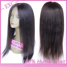 Shipping From China Natural Looking High Ponytail Lace Front Wig