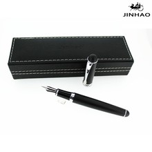 jinhao 750 metal fountain pen matte black color business gift pen promotion pen