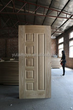 China supplier modern house hdf door skin moulded door skin for malaysia