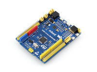 XNUCLEO-F411RE Development Kit, Comes with Common Used Peripheral Shields, OLED, RTC, AD/DA, Aud Codec,XNUCLEO-F411RE Package B