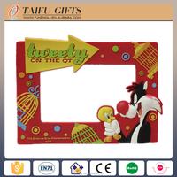 Carton funny picture soft PVC gif digital photo frame