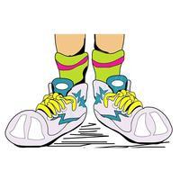 Неоновые шнурки для обуви 33 ( )
