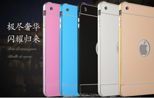 High Quality Shockproof 2 in 1Metal Bumper Hard Back Cover Case For ipad mini 4