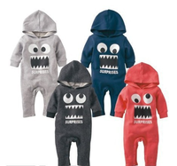 Baby Bodysuit Organic Cotton Kids Winter Clothing Cartoon Patches For Clothing