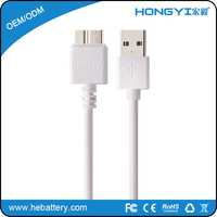 High speed USB 3.0 USB data cable for Samsung Note 3 Galaxy S 4 S 5