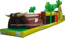 2015 New design inflatable Indian Obstacles Land(RB5016)