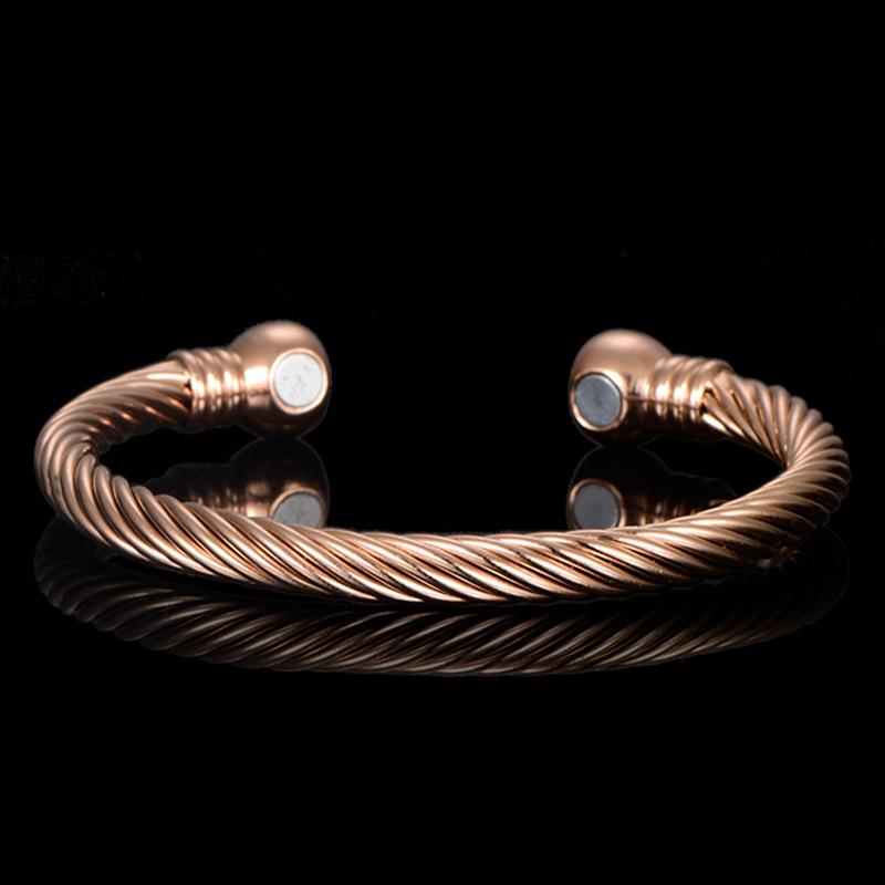 Assistenza sanitaria gioielli <span class=keywords><strong>artrite</strong></span> braccialetto in ottone braccialetto magnetico per l'<span class=keywords><strong>artrite</strong></span>