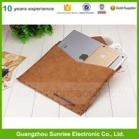 Retro Brown Korea cashmere For ipad mini case,For ipad air 2 case,For ipad Iphone Macbook leather case