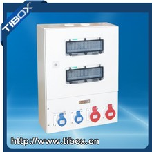 32 amp switched electric plug weatherproof industrial socket box