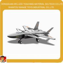 Modelo de avión de juguete de construcción