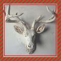 de los animales de la pared de la cabeza de ciervo escultura de la cabeza