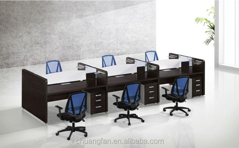 Cf italienne design de bureau cloison de bois meubles poste de