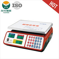 CHINA YS-838 electronic weight scale LCD/LED big diaplay.super sensive sensor,antifall,CE certificate