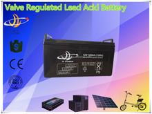 valve regulated lead acid AGM battery 12v 120ah solar/UPS/inverter/controller/electrical bike/golf car battery 12v 120ah
