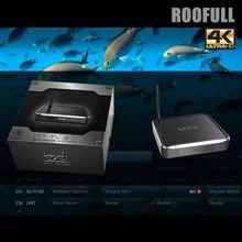 2015 New Products Aluminium TV Box M10 4K(HEVC/H.265 ) android tv box s812