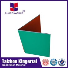 Alucoworld excellent impact assistance brushed aluminum composite panel( best price)