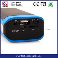 Audio and Bluetooth speaker with power bank 4000mah univesal charger for mobile phone gadgets in china