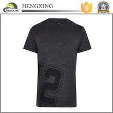 High quality plain t-shirt black t-shirt /black men's plain tshirt