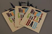 wholesale luxury paper shopping bag
