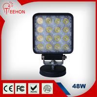 Square Spot Beam 48watt LED Work Lamp Light Off Road, Jeep, 4wd, Atv, Utv, Boat,
